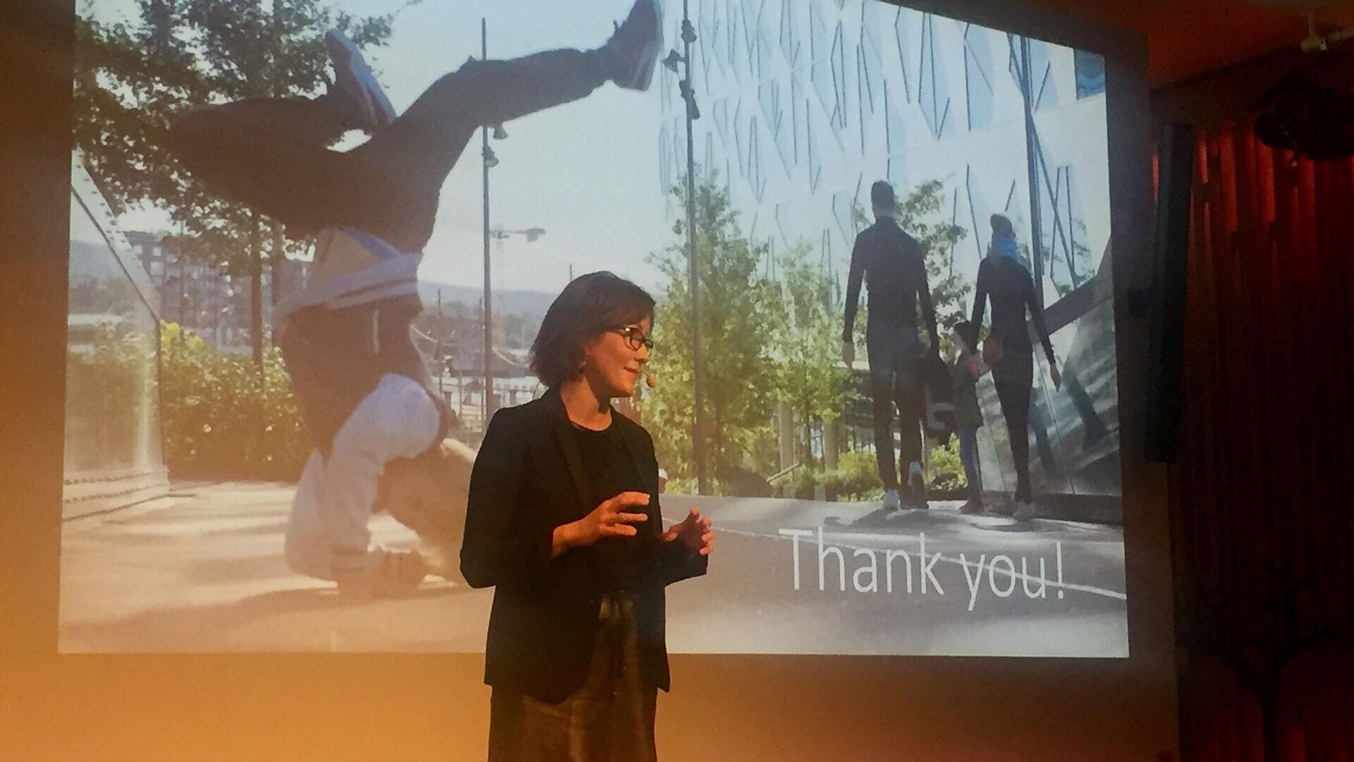 Cathrine Moksnes, byråleder og foredragsholder innen destinasjonsutvikling